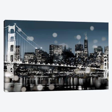 The City-San Francisco Canvas Print #KAC47} by Kate Carrigan Art Print