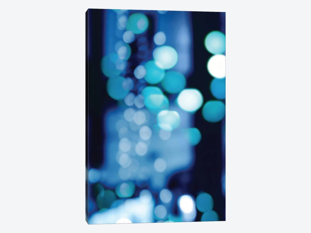 Brilliant Blue Triptych I by Kate Carrigan 1-piece Canvas Wall Art
