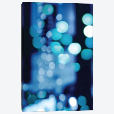 Brilliant Blue Triptych I Canvas Print #KAC4} by Kate Carrigan Canvas Print
