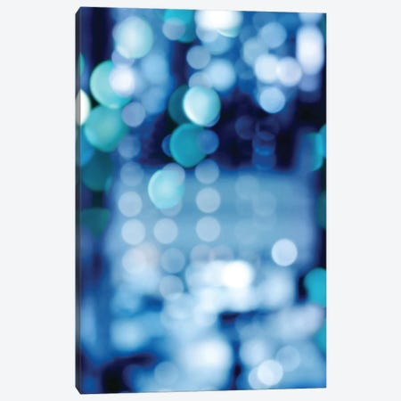 Brilliant Blue Triptych II 3-Piece Canvas #KAC5} by Kate Carrigan Art Print