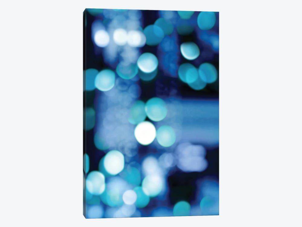 Brilliant Blue Triptych III by Kate Carrigan 1-piece Canvas Art