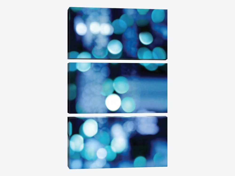 Brilliant Blue Triptych III by Kate Carrigan 3-piece Canvas Art