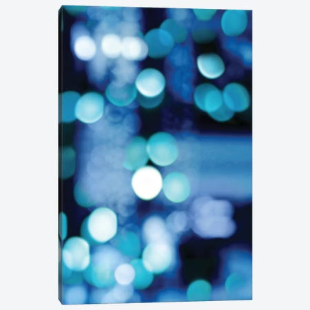 Brilliant Blue Triptych III 3-Piece Canvas #KAC6} by Kate Carrigan Canvas Art Print