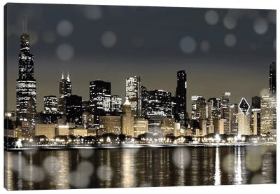 Chicago Nights I Canvas Art Print