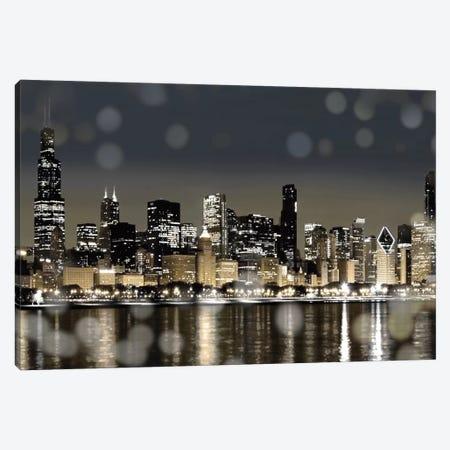 Chicago Nights I Canvas Print #KAC7} by Kate Carrigan Art Print