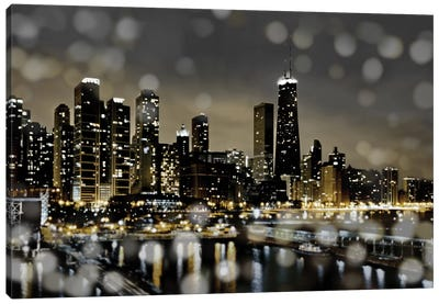 Chicago Nights II Canvas Art Print