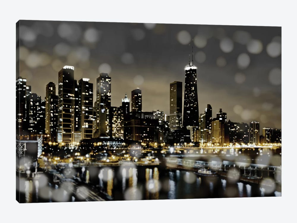Chicago Nights II by Kate Carrigan 1-piece Canvas Artwork