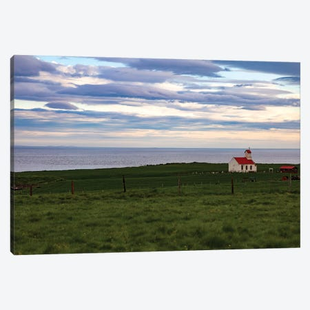 Iceland Oceans Canvas Print #KAD10} by Sarah Kadlecek Canvas Artwork