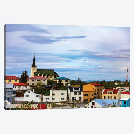 Icelandic Township Canvas Print #KAD12} by Sarah Kadlecek Canvas Artwork