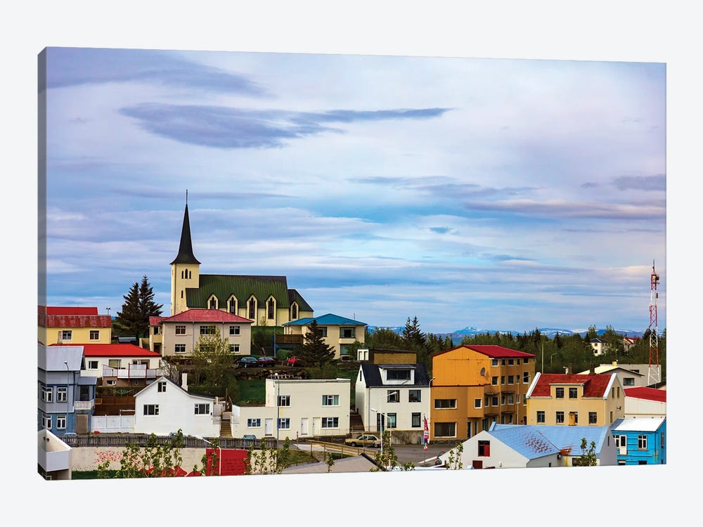 Icelandic Township by Sarah Kadlecek 1-piece Canvas Art