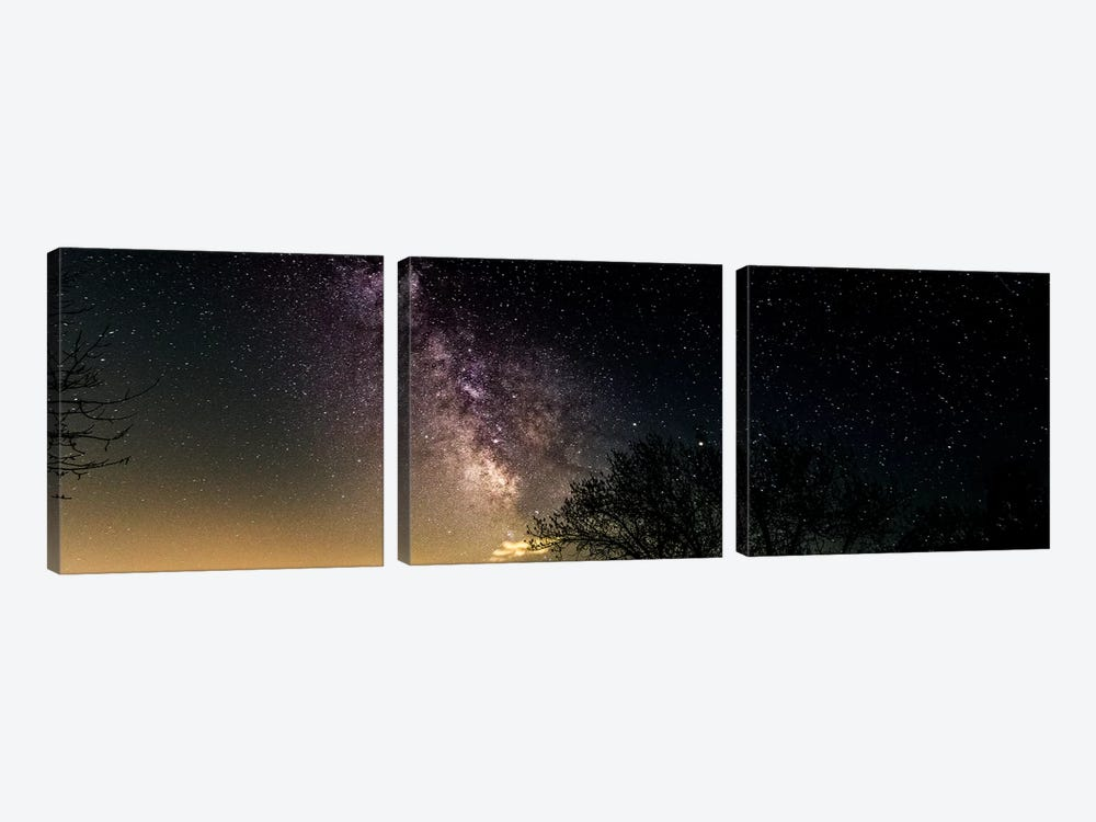 Milky Way I by Sarah Kadlecek 3-piece Canvas Print