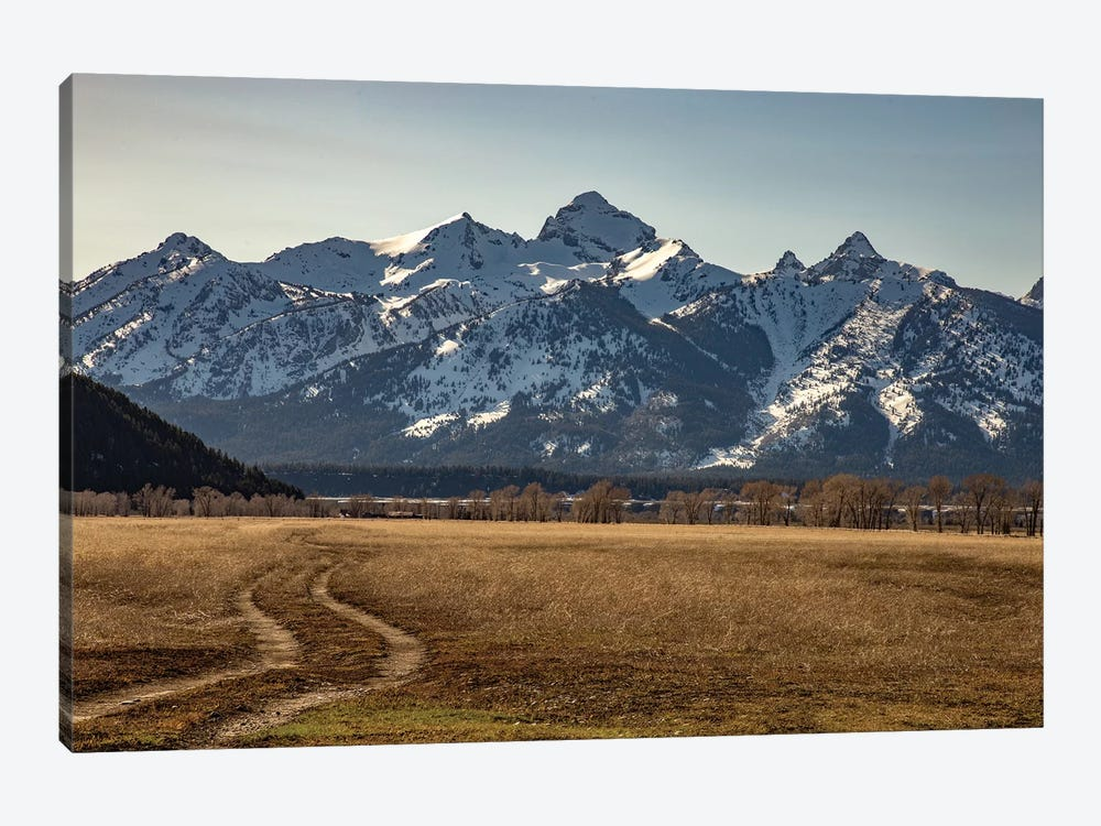 Road To The Tetons 1-piece Art Print
