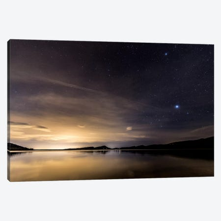 Stary Nights Canvas Print #KAD25} by Sarah Kadlecek Canvas Artwork