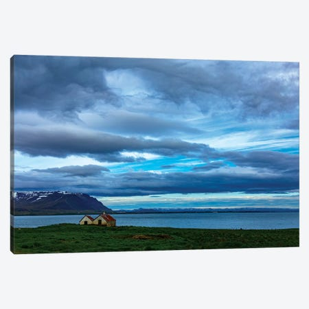 View Over The Bay Canvas Print #KAD28} by Sarah Kadlecek Canvas Print