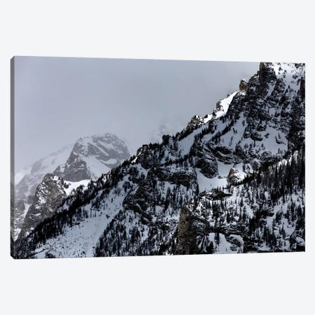 A Grand Teton II Canvas Print #KAD2} by Sarah Kadlecek Canvas Art Print