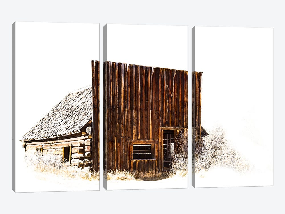 Ghost Town by Sarah Kadlecek 3-piece Canvas Wall Art