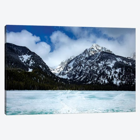 Grand Tetons II Canvas Print #KAD34} by Sarah Kadlecek Canvas Print
