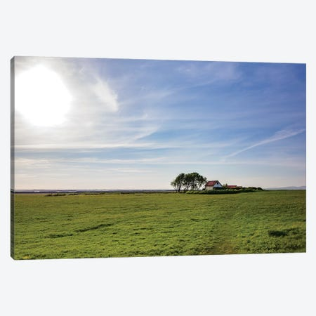 Iceland Homestead Canvas Print #KAD37} by Sarah Kadlecek Art Print