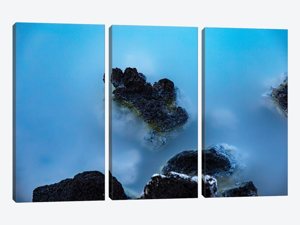 Blue Lagoon by Sarah Kadlecek 3-piece Canvas Art