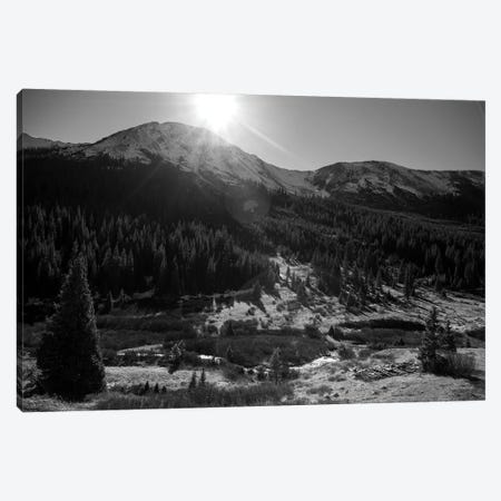 Independance Pass In B&W Canvas Print #KAD41} by Sarah Kadlecek Art Print