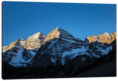 Maroon Peak II Canvas Art Print