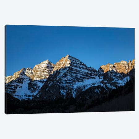 Maroon Peak II Canvas Print #KAD46} by Sarah Kadlecek Canvas Wall Art