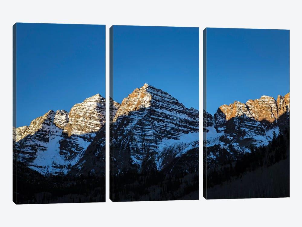 Maroon Peak II by Sarah Kadlecek 3-piece Canvas Print
