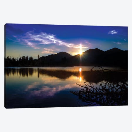 Sprague Lake Canvas Print #KAD48} by Sarah Kadlecek Canvas Print