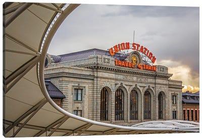 Denver, Union Station Canvas Art Print