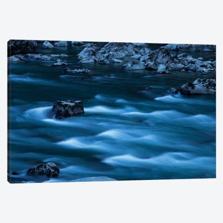 Blue Waters Canvas Print #KAD4} by Sarah Kadlecek Canvas Artwork