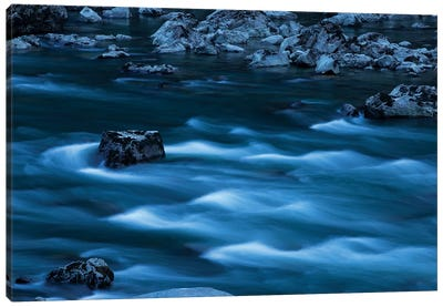 Blue Waters Canvas Art Print