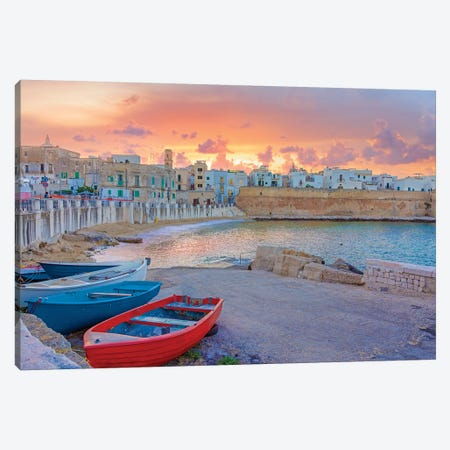 Italian Coast Canvas Print #KAD50} by Sarah Kadlecek Canvas Artwork