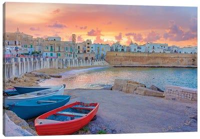 Italian Coast Canvas Art Print