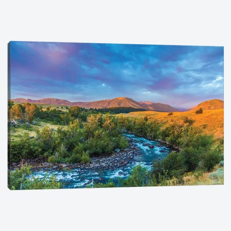 Stillwater River Montana Canvas Print #KAD54} by Sarah Kadlecek Art Print