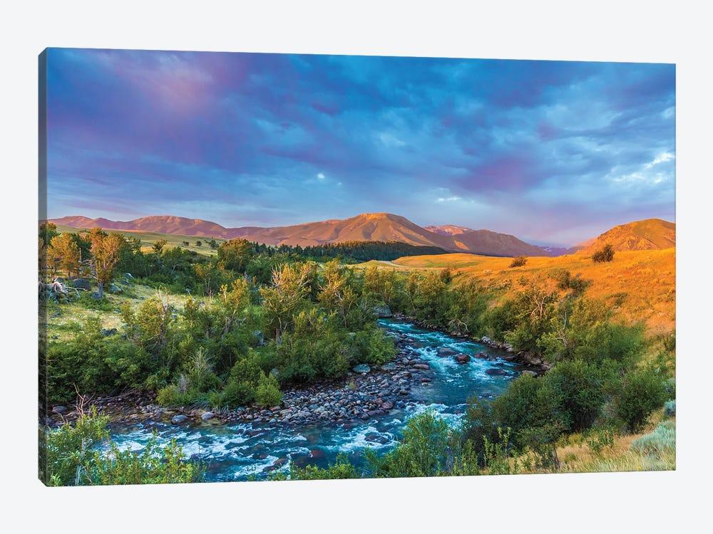 Stillwater River Montana by Sarah Kadlecek 1-piece Canvas Wall Art