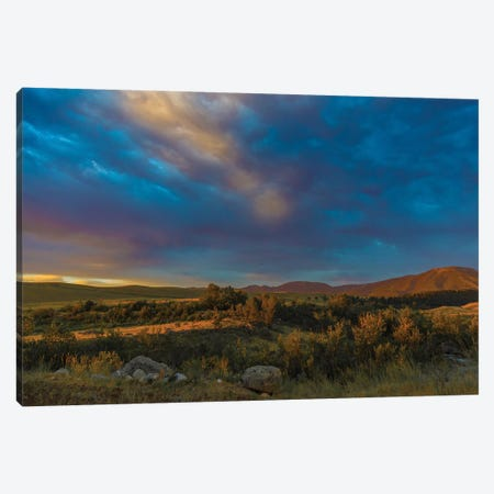 Montana Sky Canvas Print #KAD55} by Sarah Kadlecek Art Print