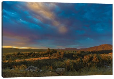 Montana Sky Canvas Art Print