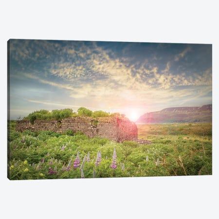 Iceland Countryside Canvas Print #KAD56} by Sarah Kadlecek Canvas Print