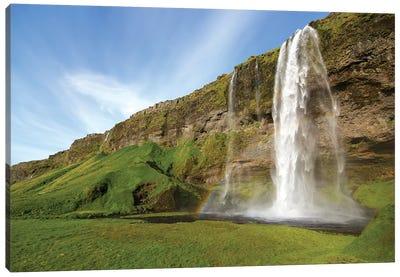 Dancing Waterfalls Canvas Art Print