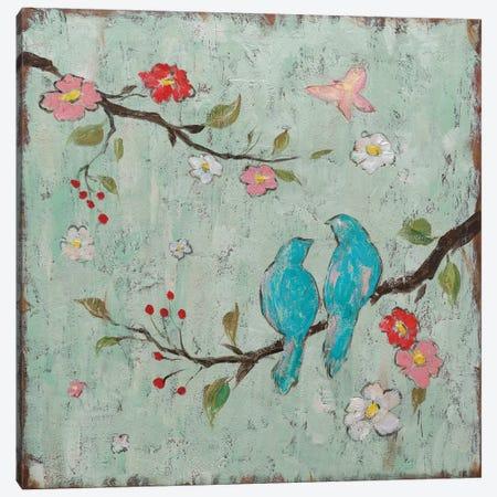 Love Birds I Canvas Print #KAF1} by Katy Frances Art Print