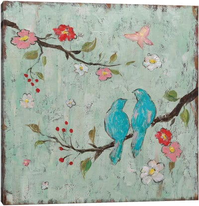 Love Birds I Canvas Print #KAF1