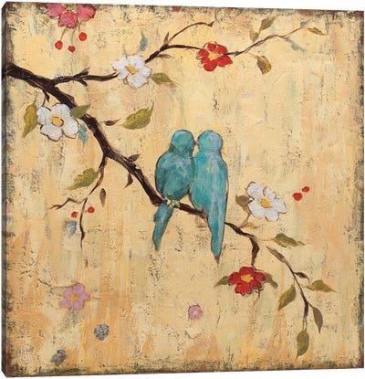 Love Birds II Canvas Art Print