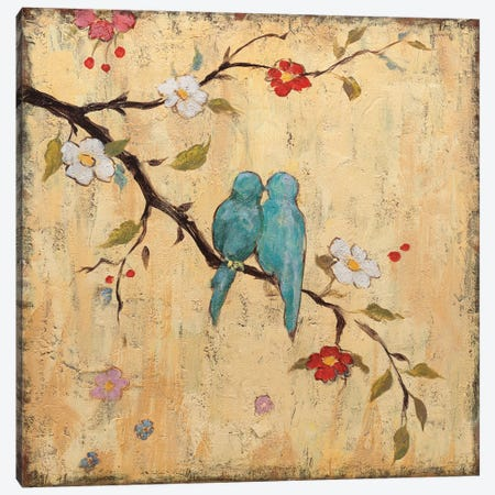 Love Birds II Canvas Print #KAF2} by Katy Frances Art Print