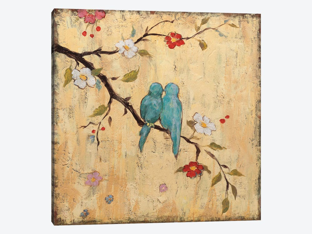 Love Birds II by Katy Frances 1-piece Art Print