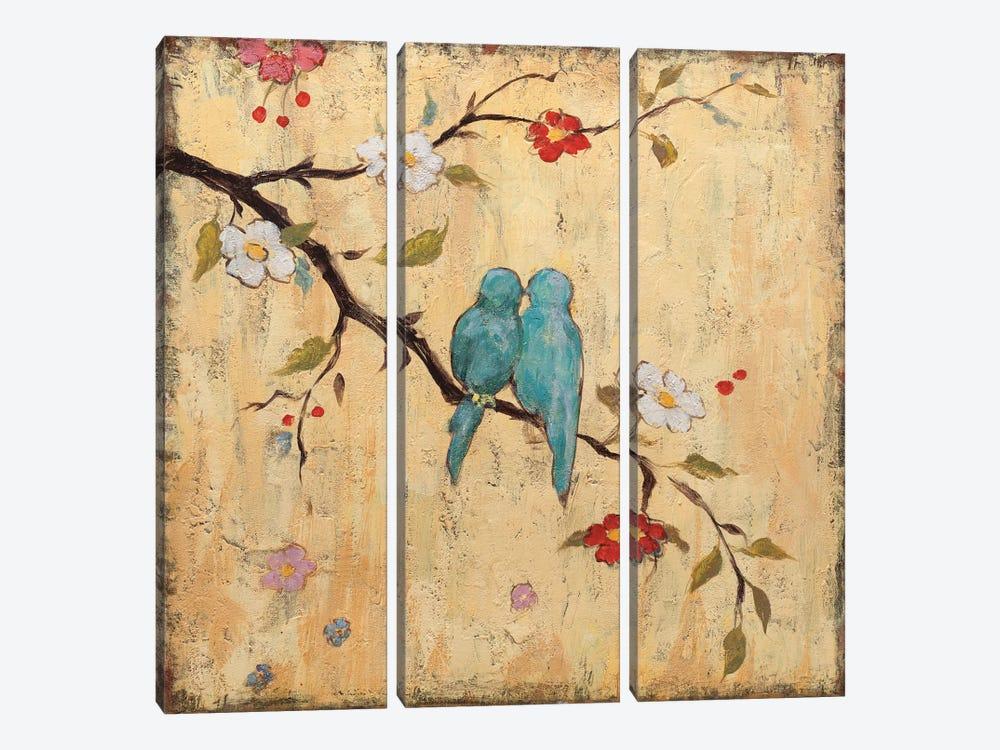 Love Birds II by Katy Frances 3-piece Canvas Print