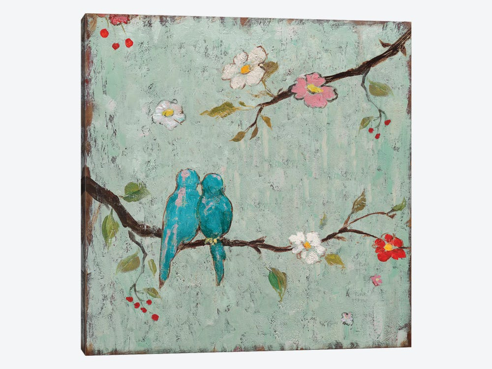 Love Birds IV by Katy Frances 1-piece Canvas Wall Art
