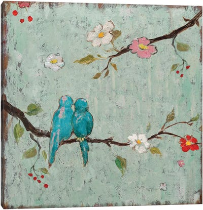 Love Birds IV Canvas Art Print