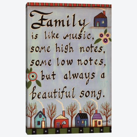 Family Quote Canvas Print #KAG114} by Karla Gerard Canvas Artwork