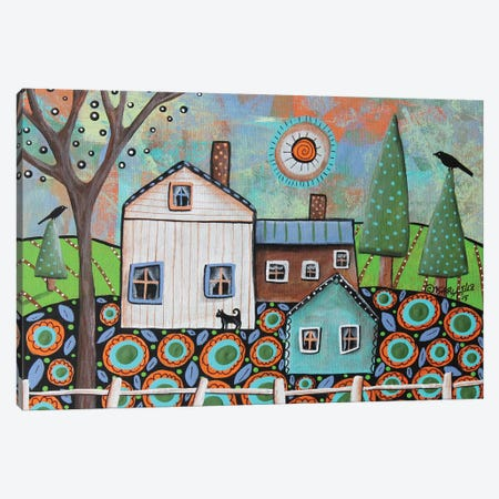 Farmhouse Canvas Print #KAG116} by Karla Gerard Canvas Artwork
