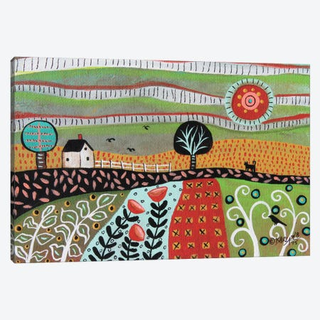 Floral Meadow I Canvas Print #KAG119} by Karla Gerard Art Print